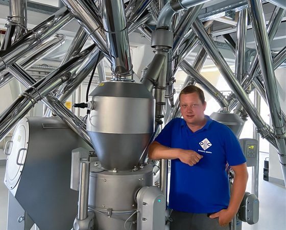 Felix Scharf owner and plant manager at Otto Crienitz