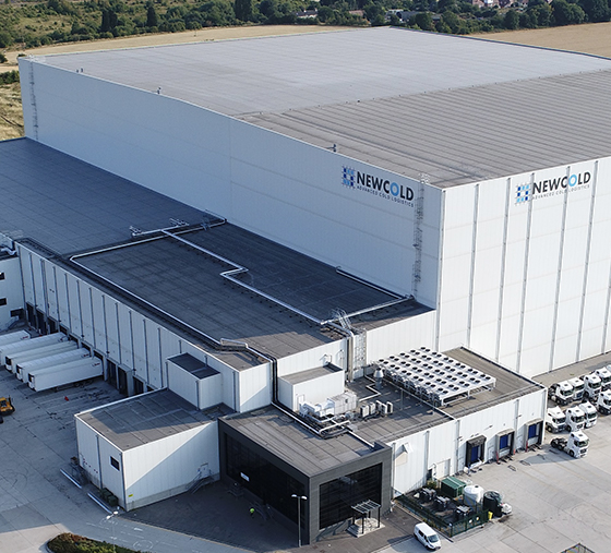 New cold corby facility