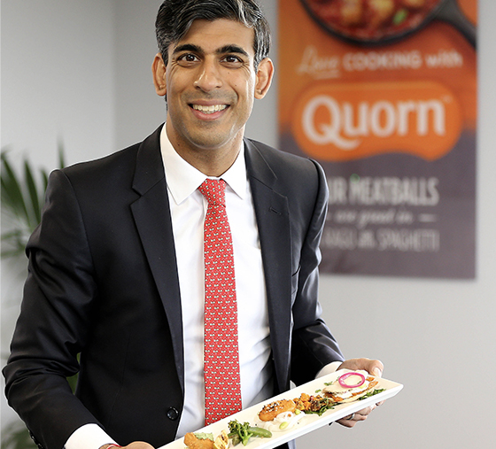 Rishi Sunak MP for Richmond visits Quorns Stokesley