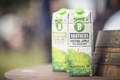 Brothers cider pioneers recyclable and re-sealable drinks carton
